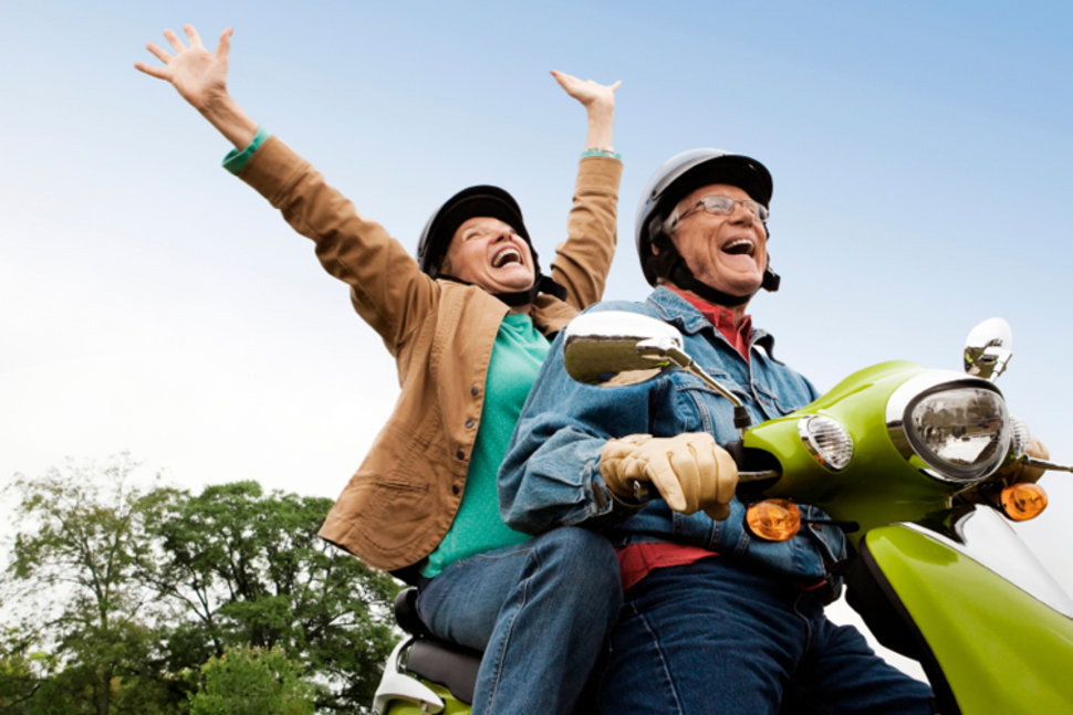 Retirement age? Accessing sources of income
